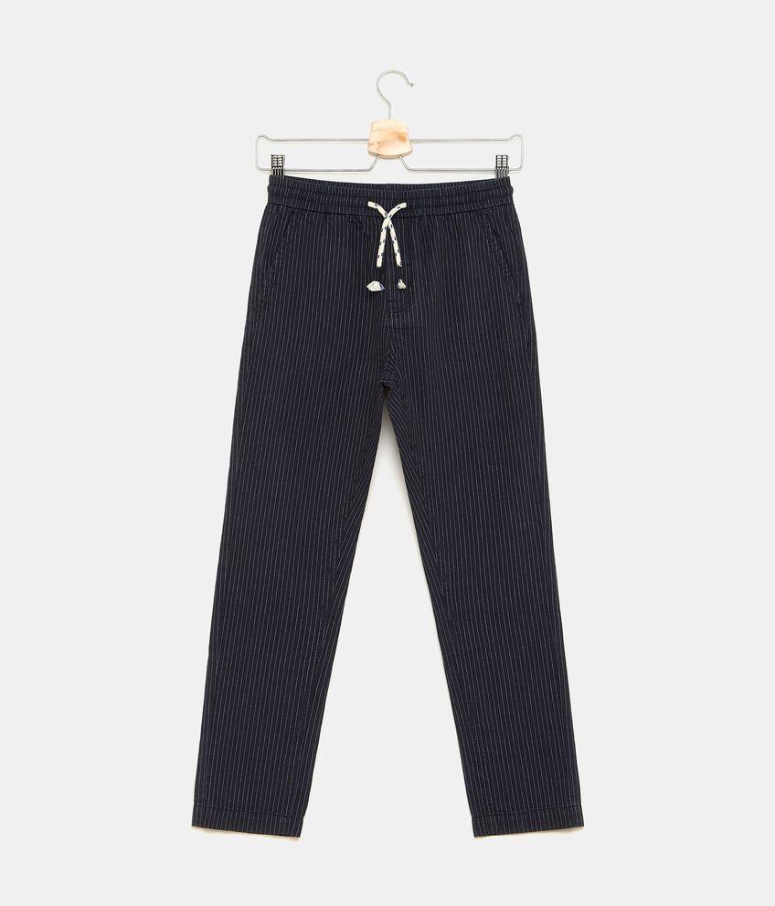 Pantaloni con motivo a righe bambino