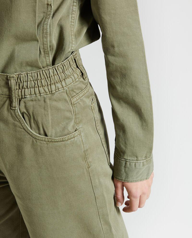 Pantaloni casual cropped donna