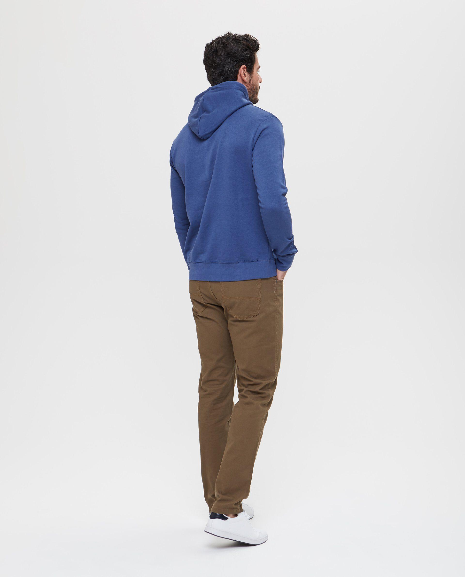 Felpa con ampio cappuccio e tasca