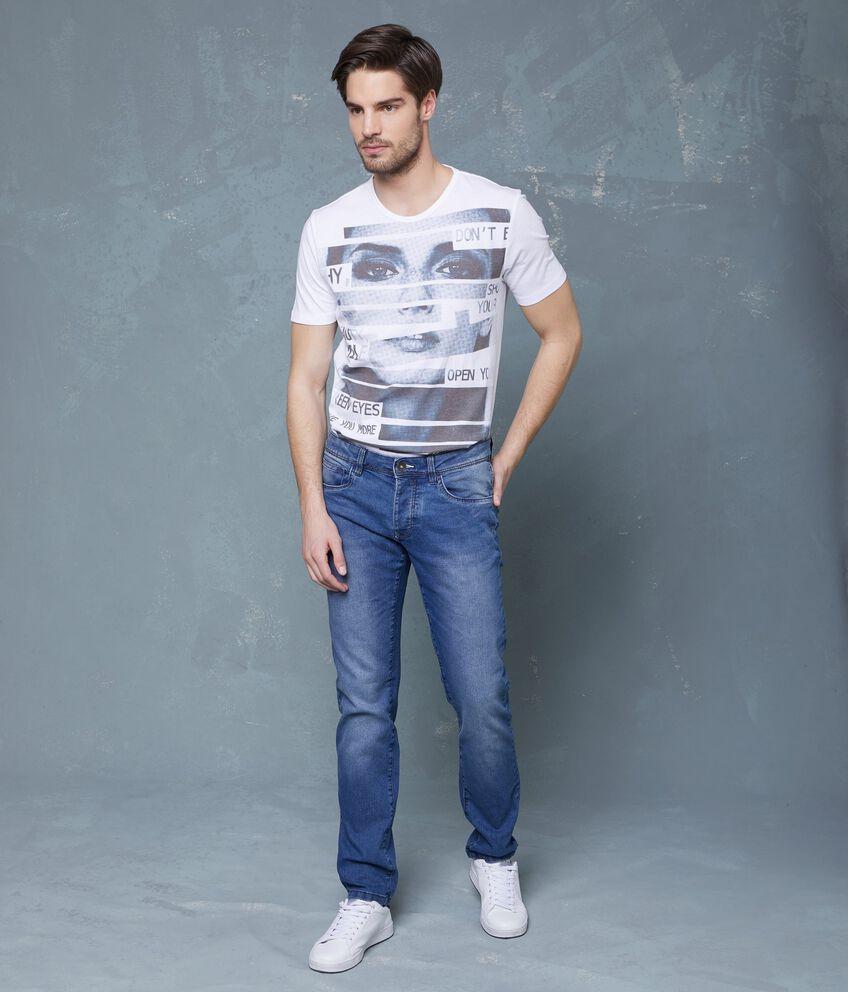 Jeans skinny a cinque tasche uomo