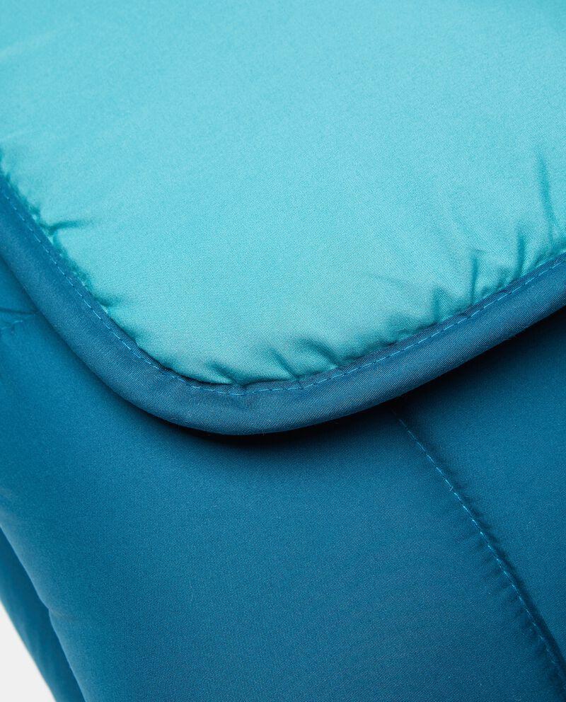 Plaid trapuntato double in microfibra