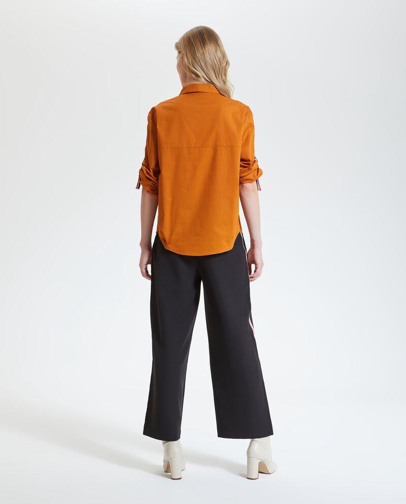 Camicia in puro cotone donna