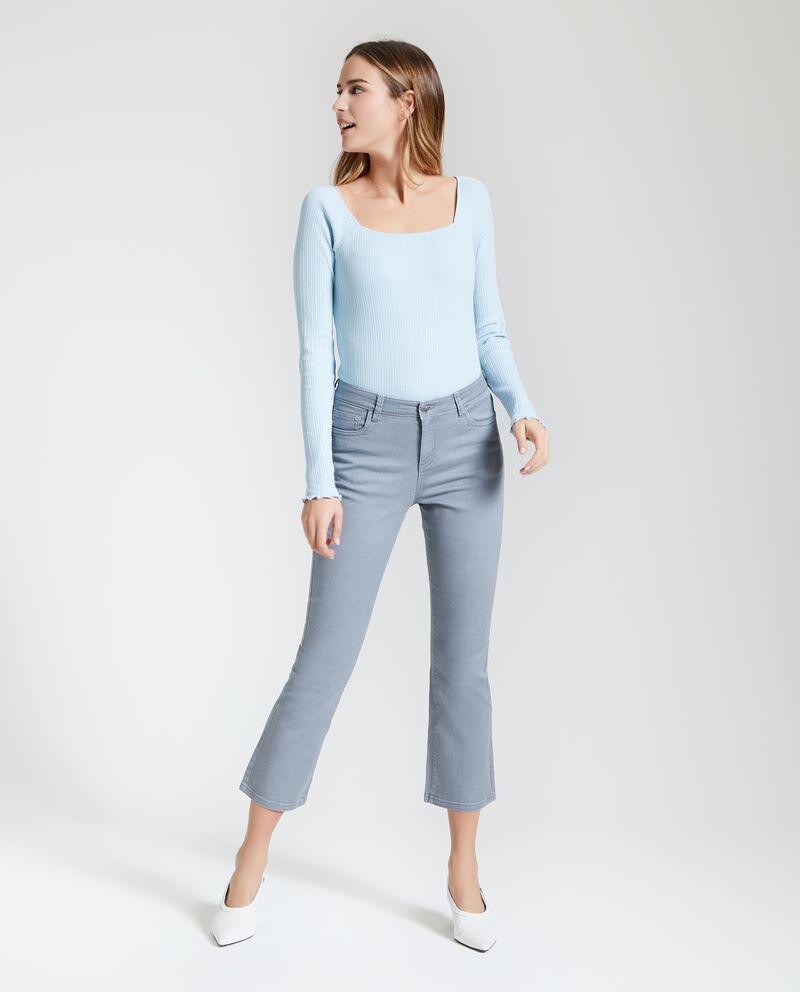Pantaloni cropped donna