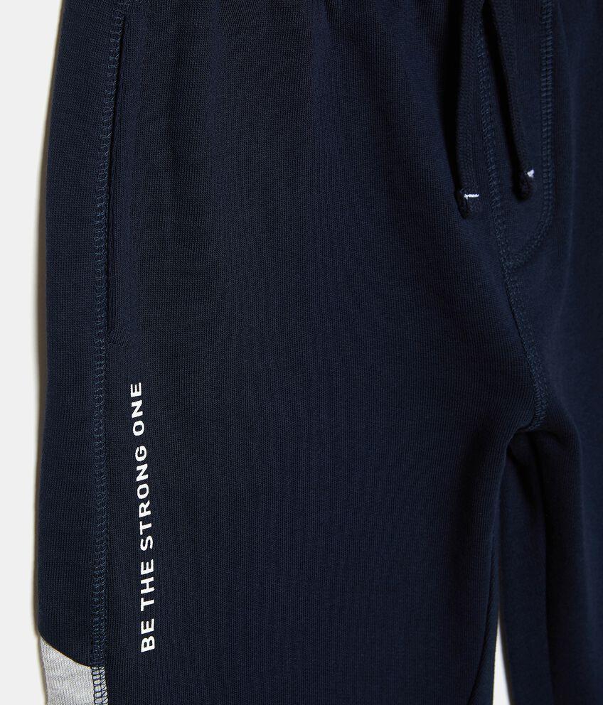 Pantaloni con bande sul fondo ragazzo