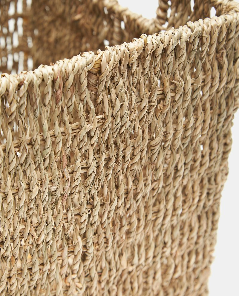 Cesto in fibra naturale vegetale
