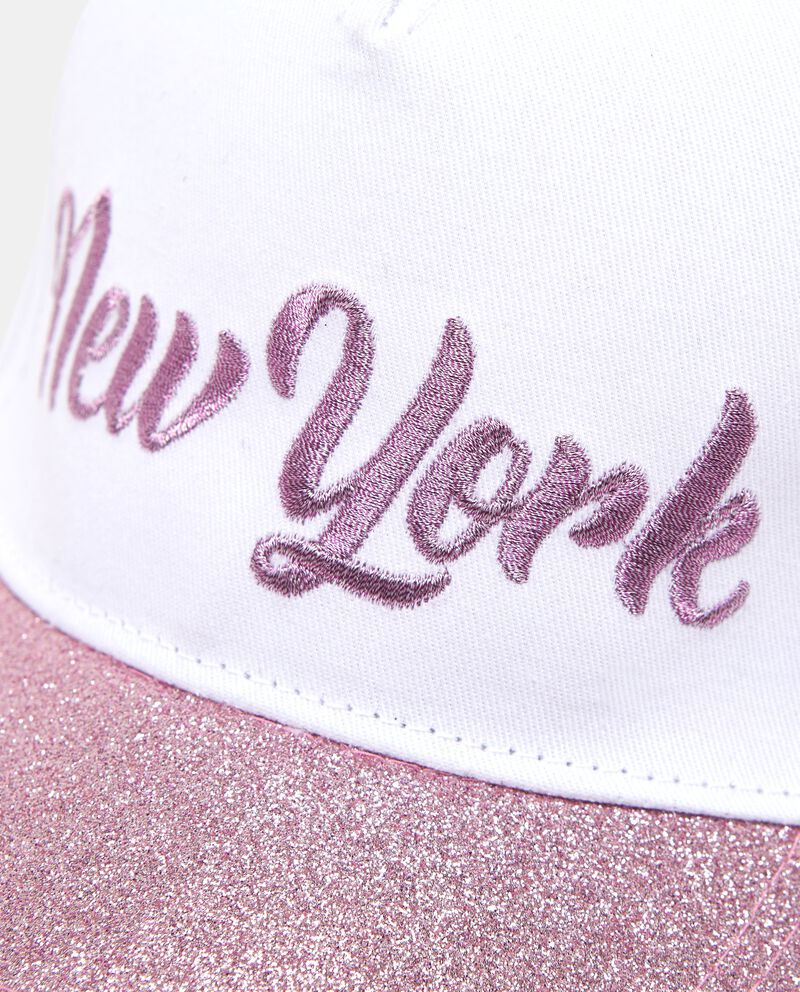 Cappello da baseball visiera glitterata