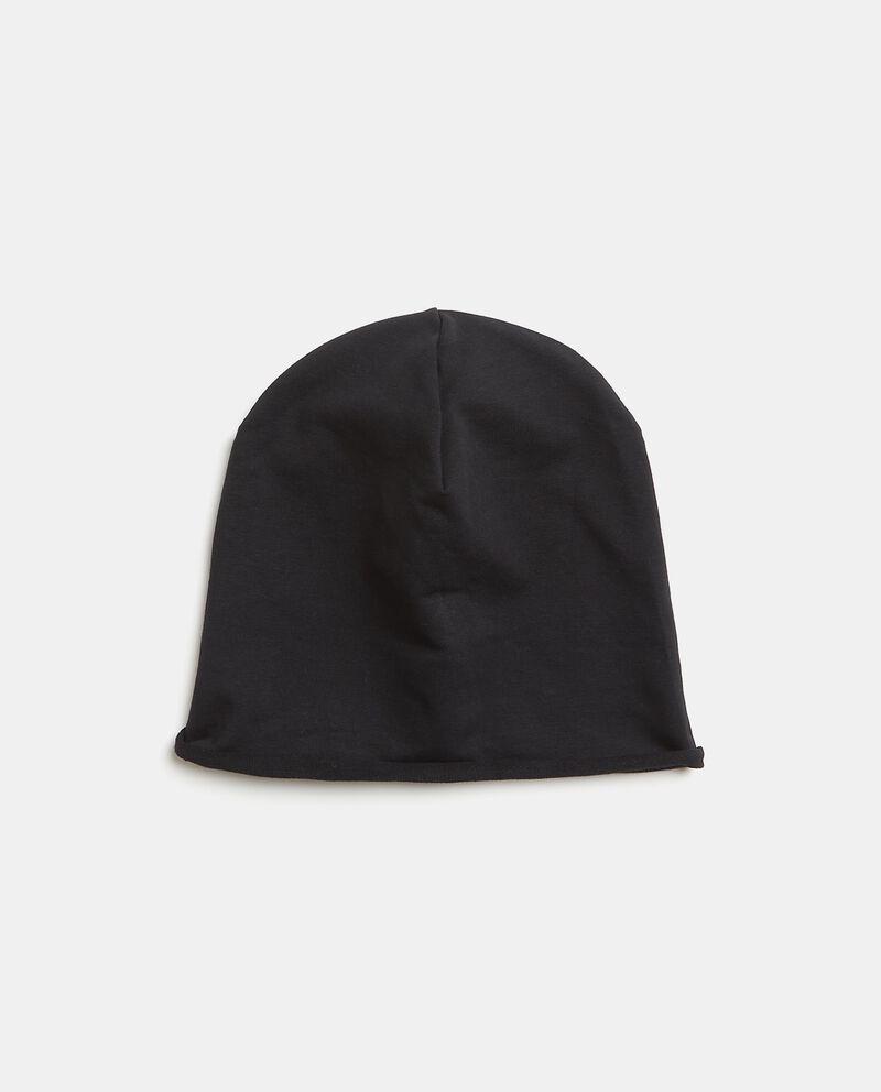 Cappellino morbido in tinta unita uomo