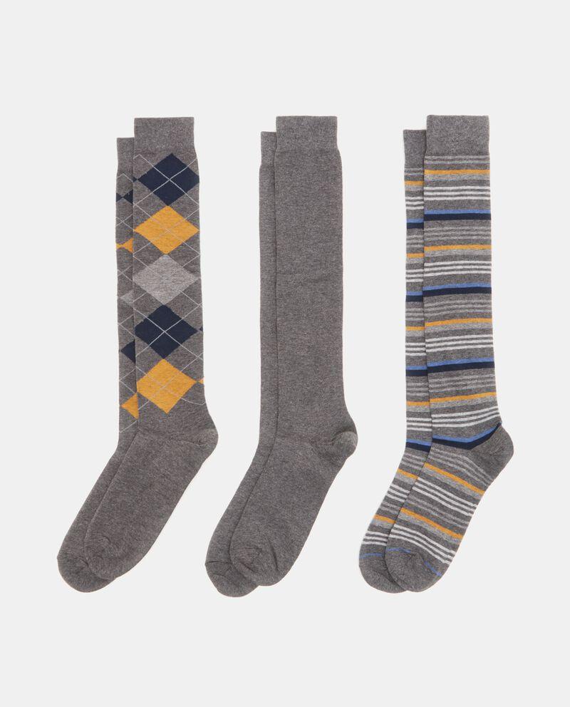 Set con calzini lunghi uomo