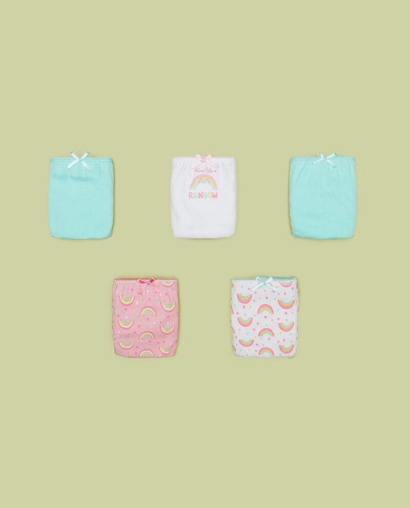 Five pack slip in puro cotone