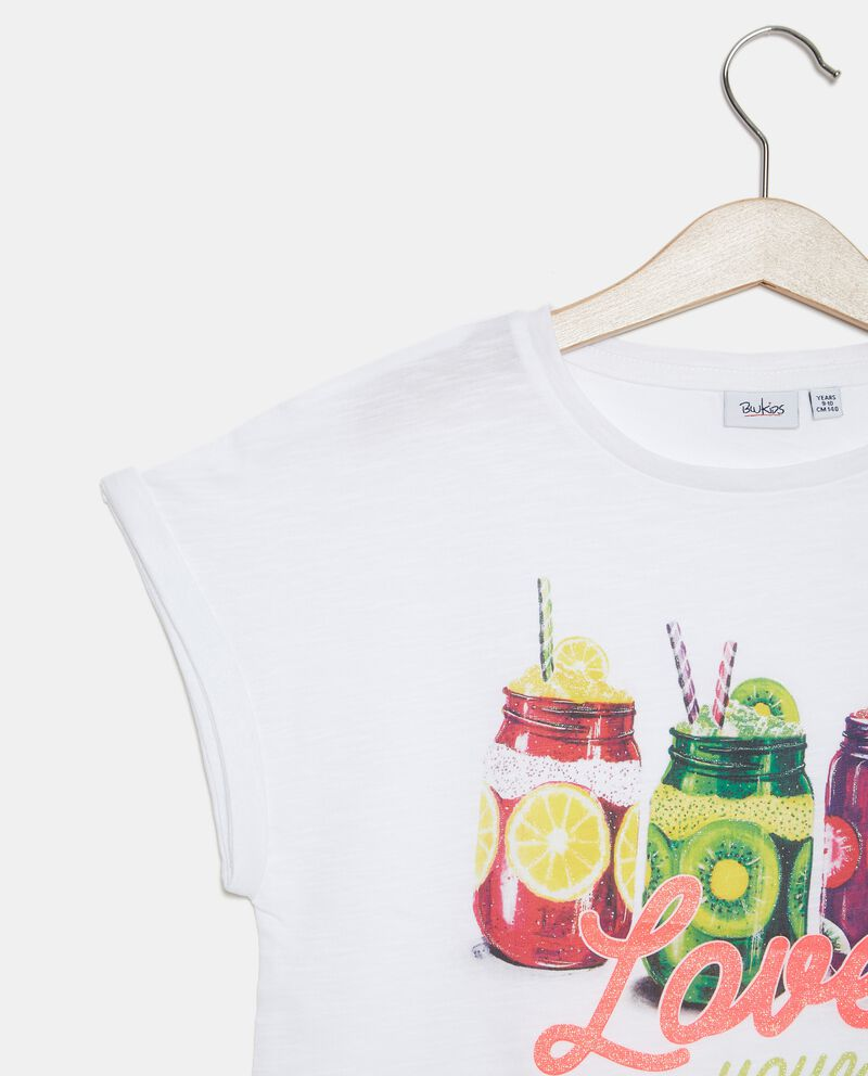 T-shirt malfilé in cotone organico ragazzadouble bordered 1