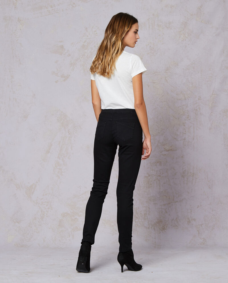 Jeggings stretch tinta unita