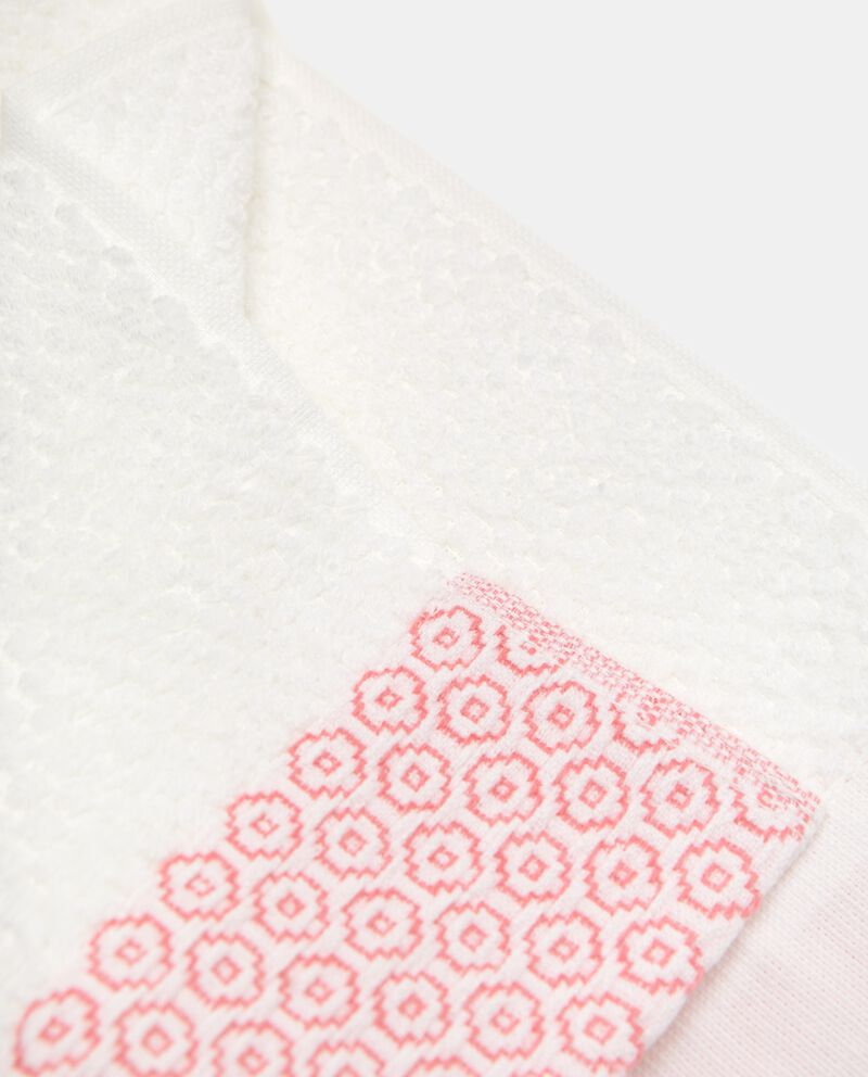 Asciugamano con motivo geometrico