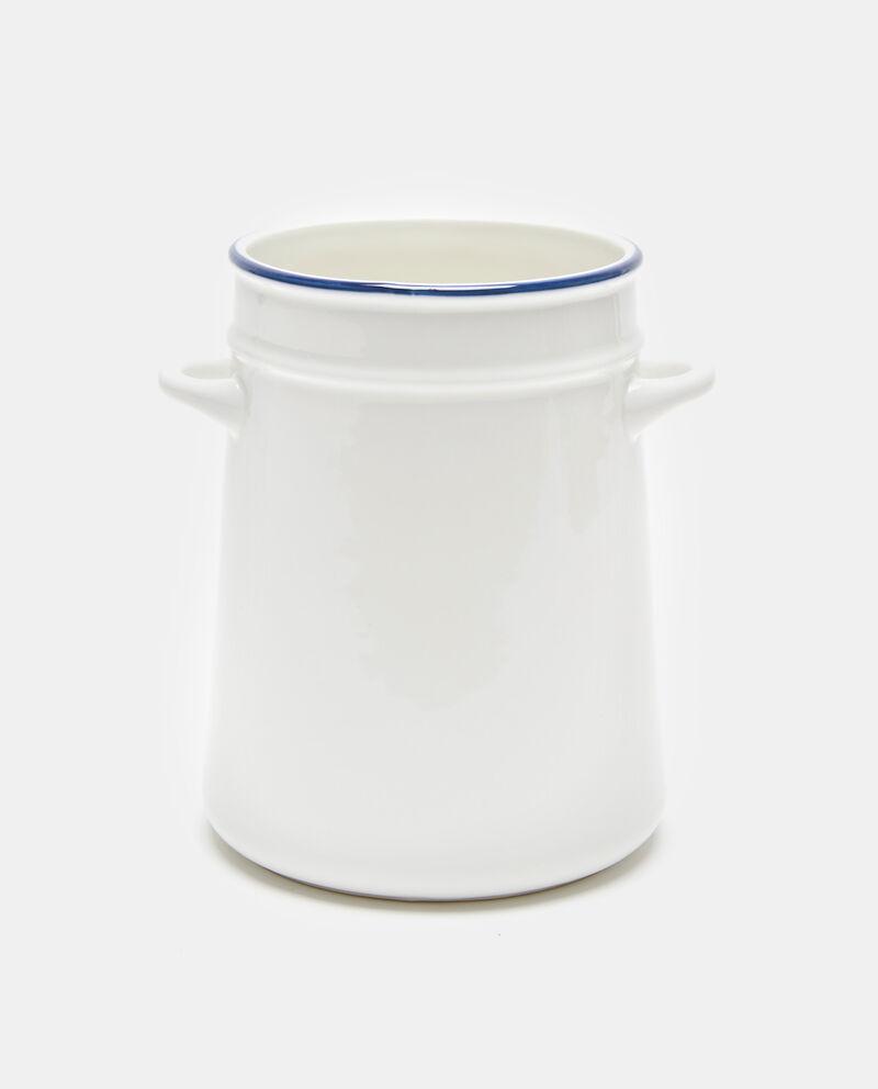 Portamestoli in porcellana con manici