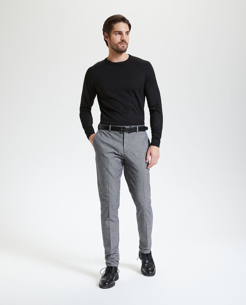 Pantaloni pied de poule uomo