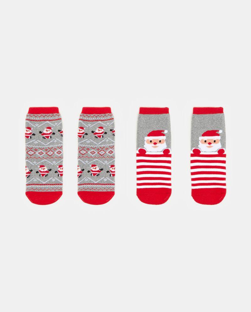 Set calzini con decori natalizi bambino