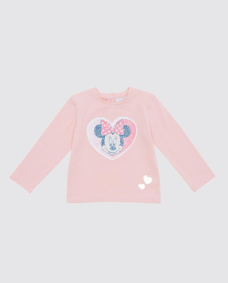 T-shirt con paillettes neonata