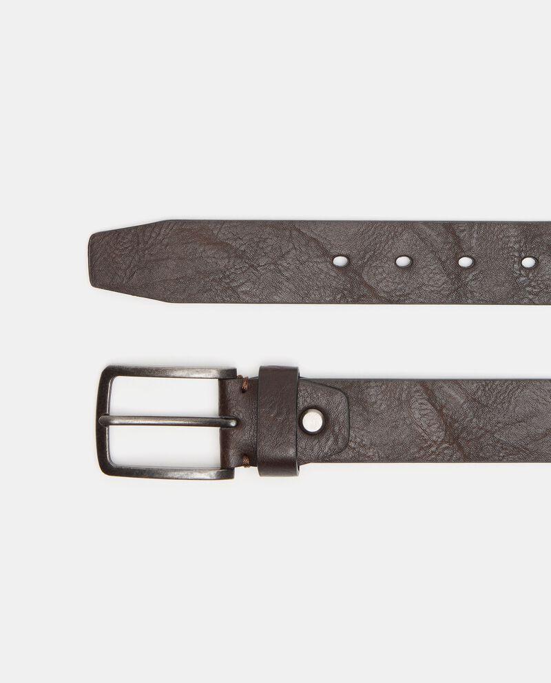 Cintura con effetto invecchiato uomodouble bordered 0