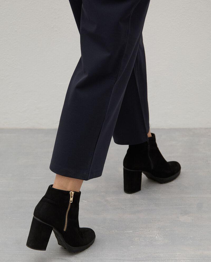 Pantaloni in twill di cotone Curvy donna single tile 2