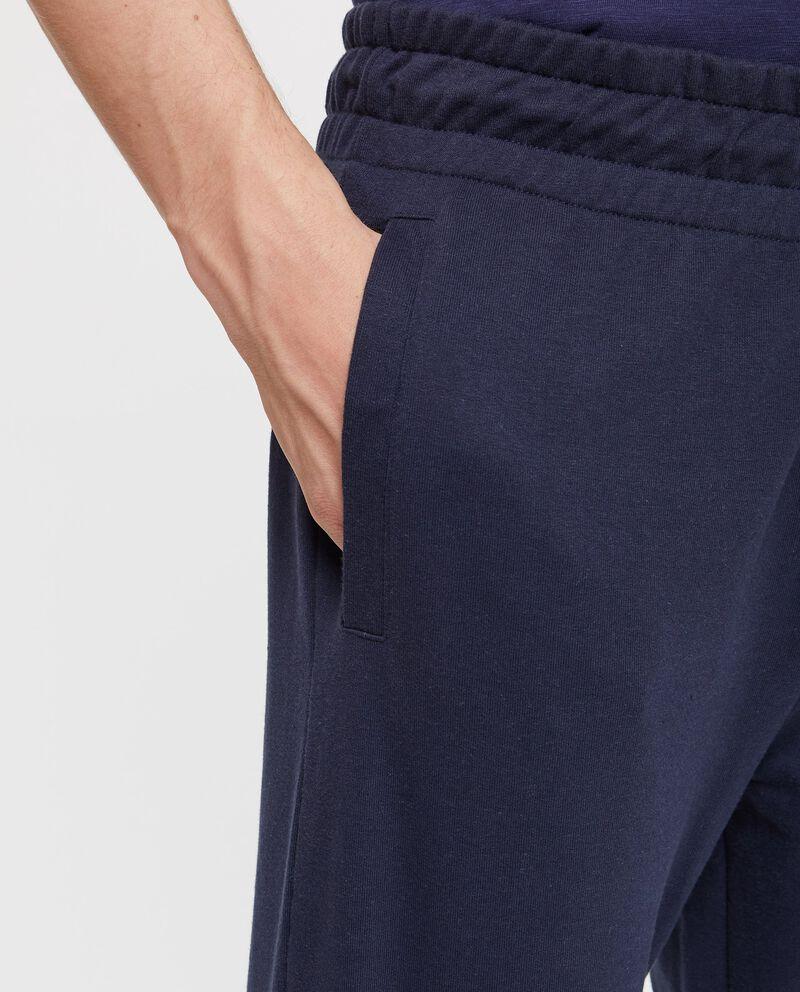 Pantaloni tuta con tasche a filetto