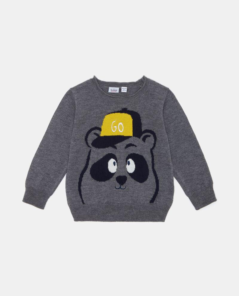 Maglione con panda neonato