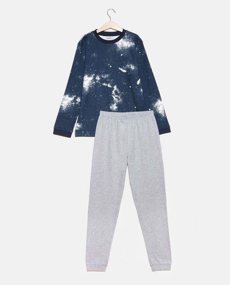 Set pigiama t-shirt fantasia e pantaloni ragazzo