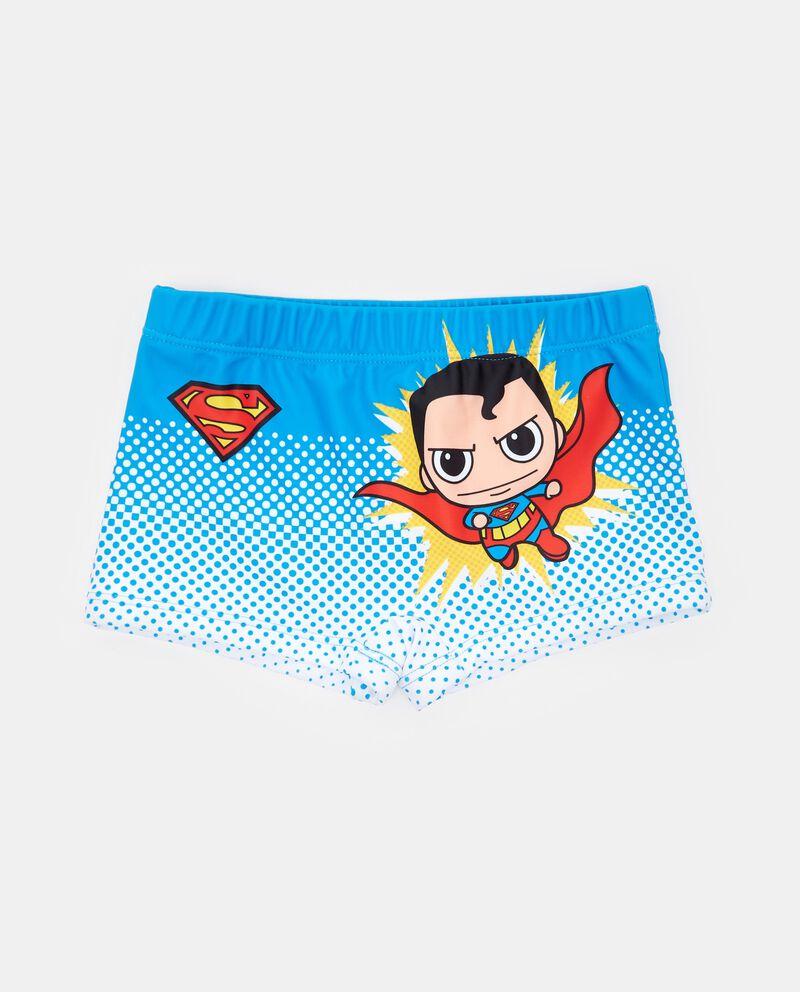 Boxer costume con fantasia Superman bambino