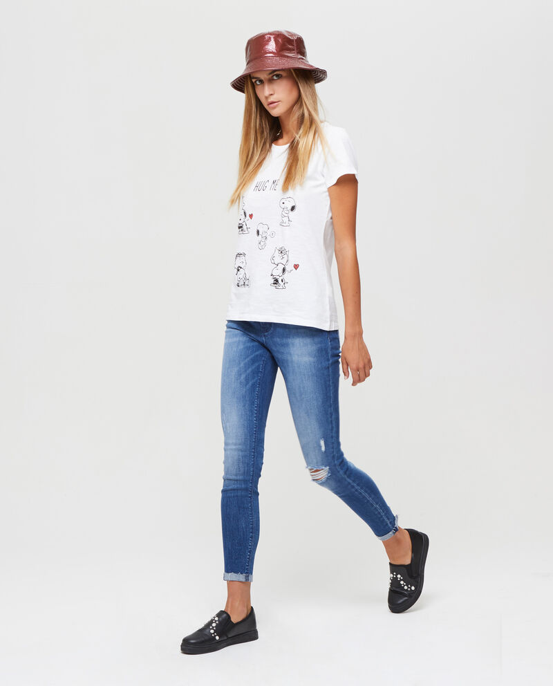 T-shirt puro cotone Snoopy