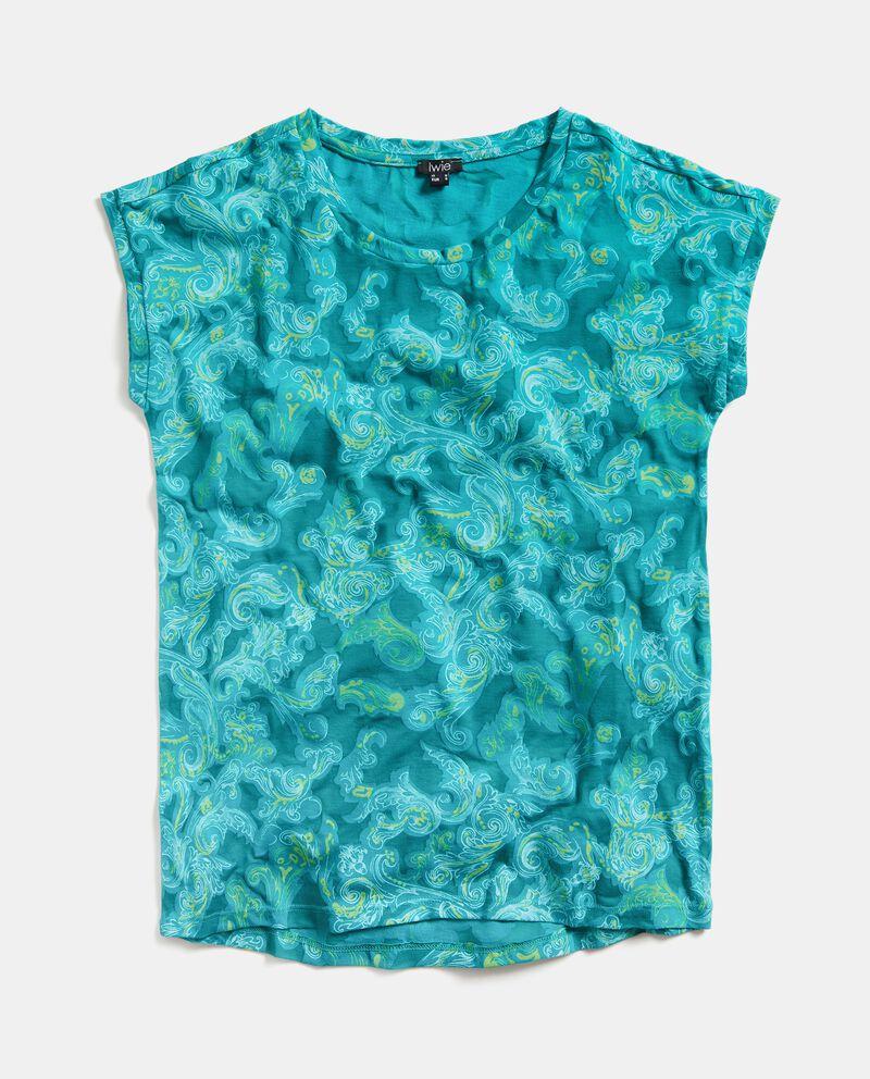 T-shirt in fantasia arabesque donna cover