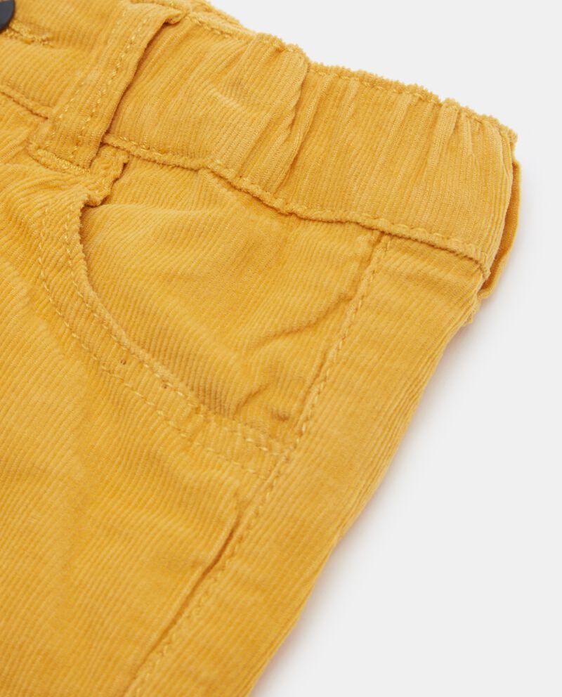 Pantaloni tinta unita neonato