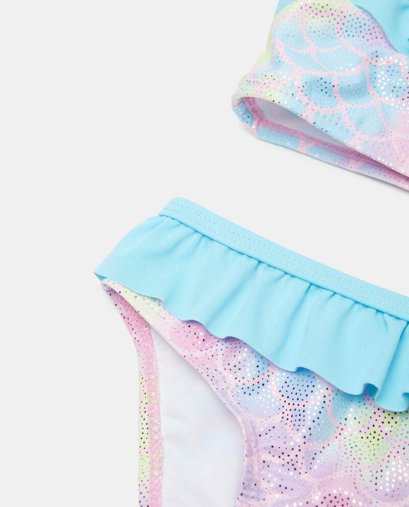 Costume bikini effetto iridescente neonata single tile 1