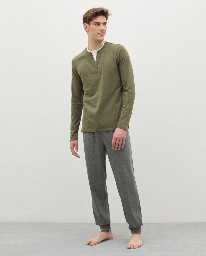 Pantaloni pigiama in cotone uomo cover