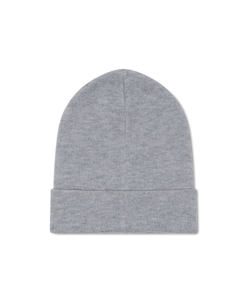 Cappello a cuffia mélange con patch
