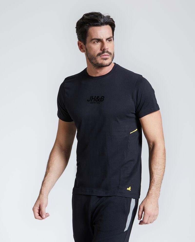 T-shirt Fitness uomo puro cotone