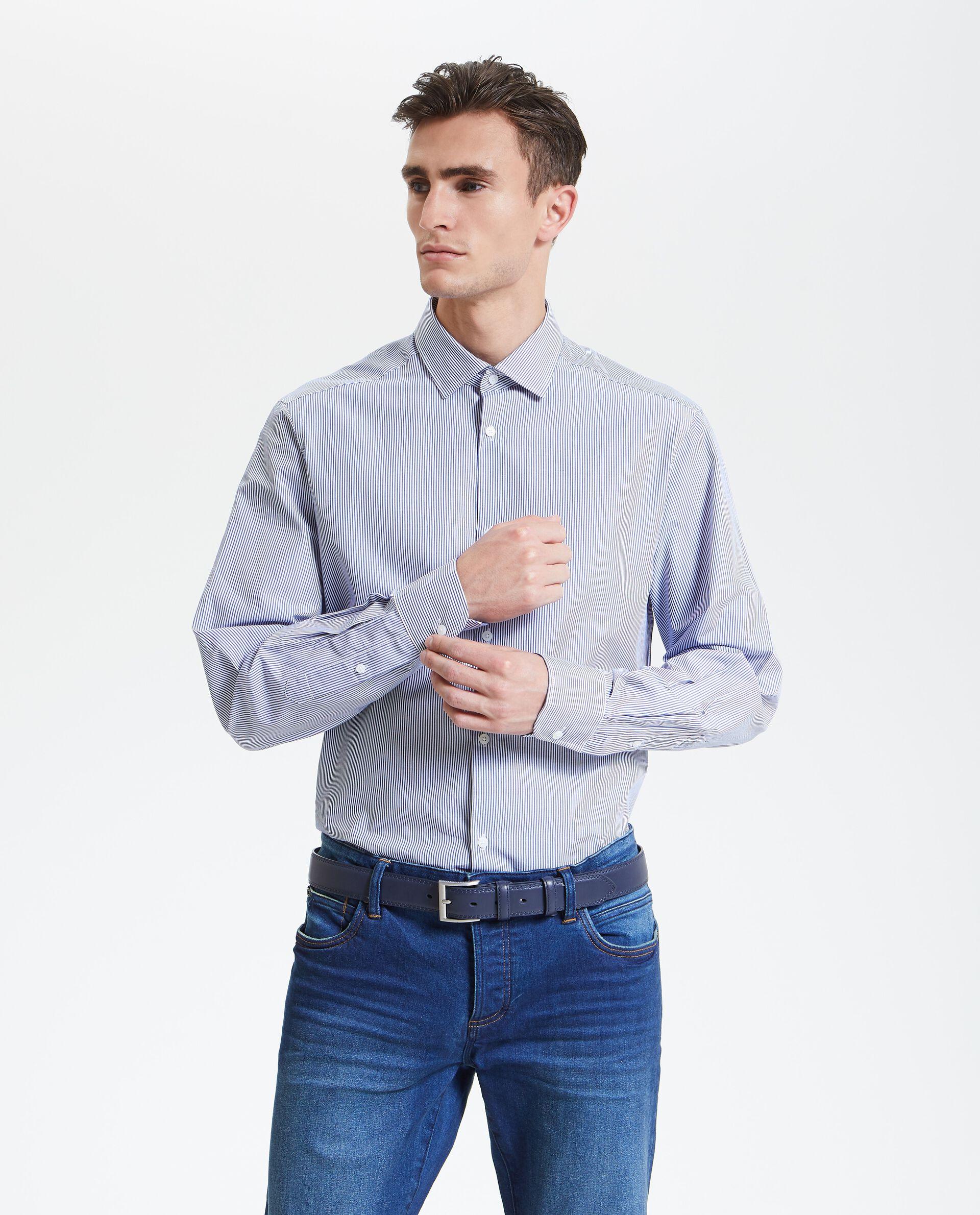 Camicia righe uomo