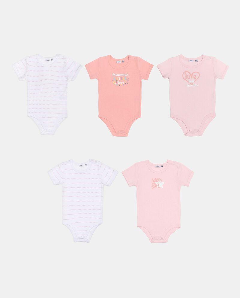 Set con body in puro cotone neonata