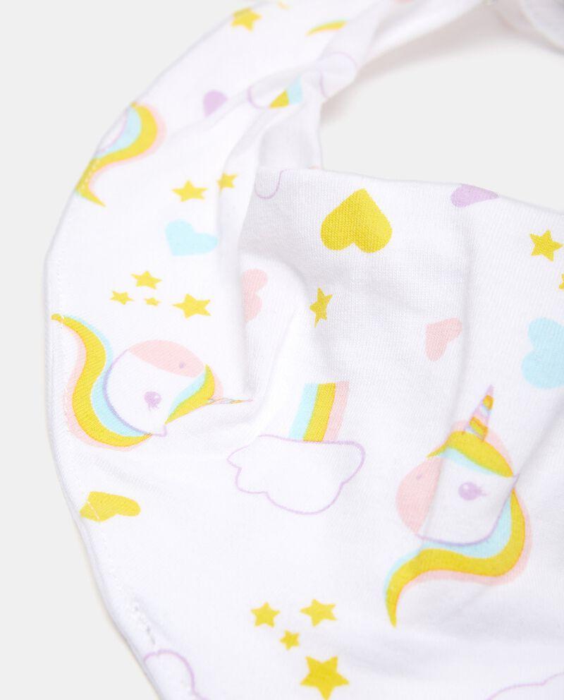 Bavaglino bandana neonata