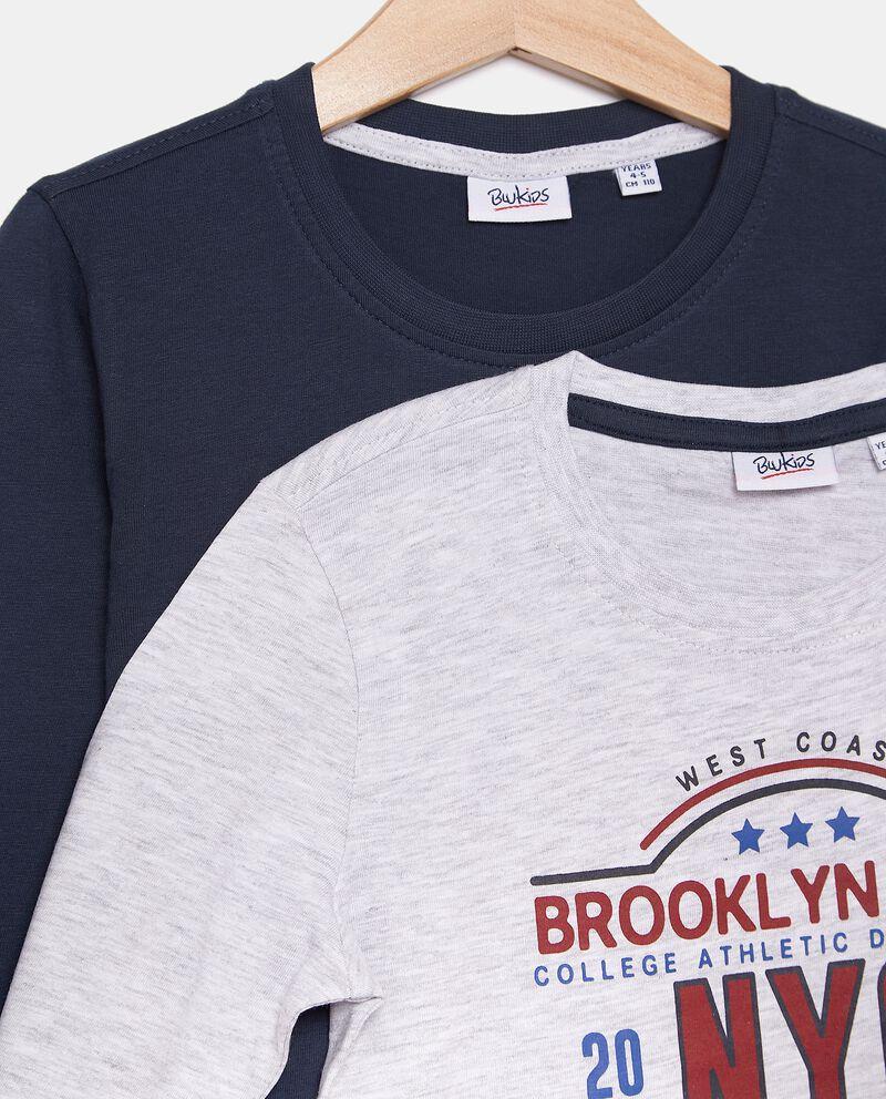 Bipack maglie con stampa bambino