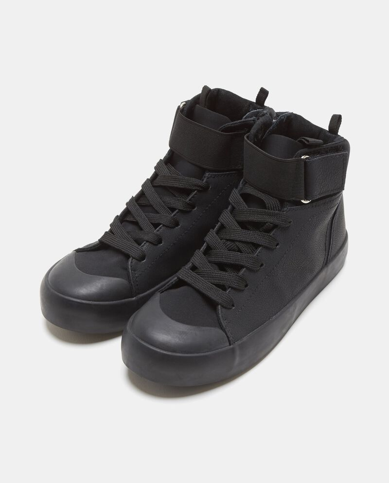 Sneakers alte con fascetta