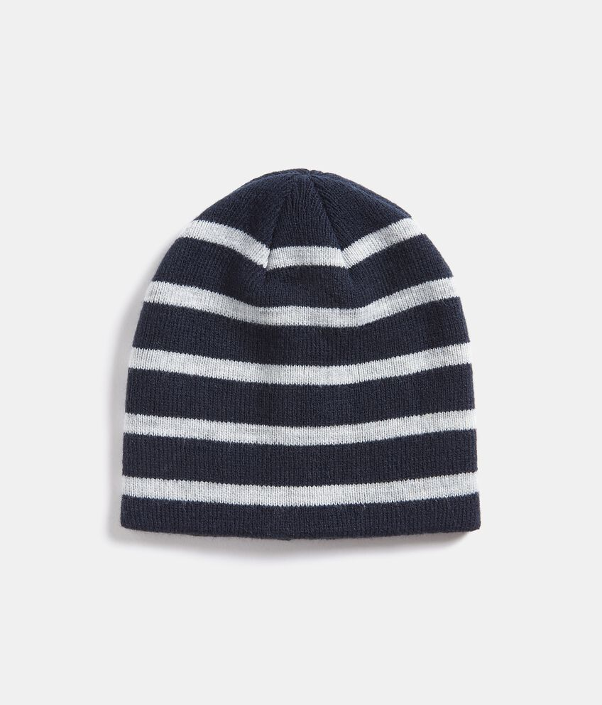 Cappellino con motivo a righe neonato