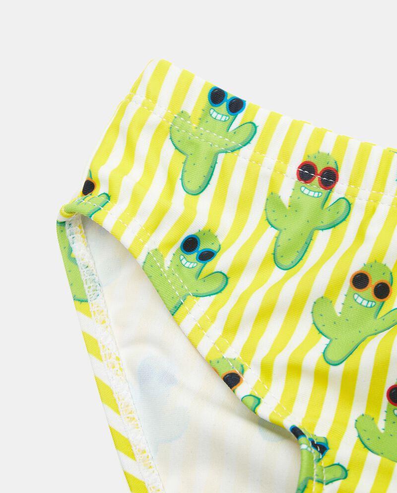 Costume slip stampa cactus neonato