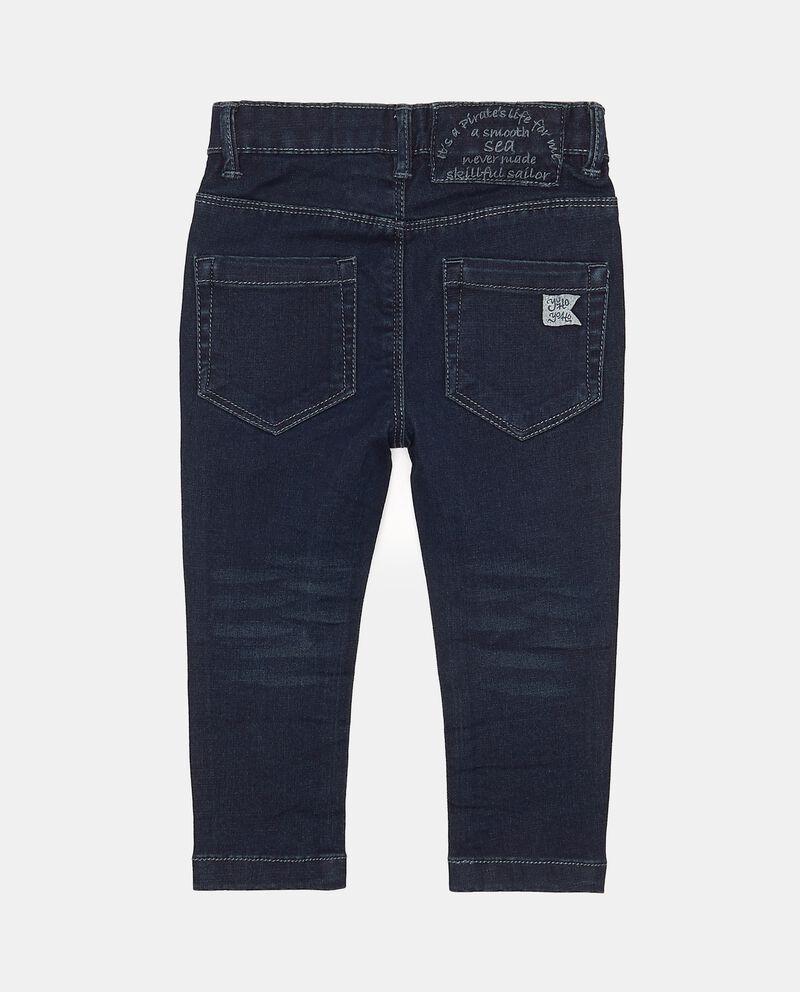Jeans regular fit effetto slavato