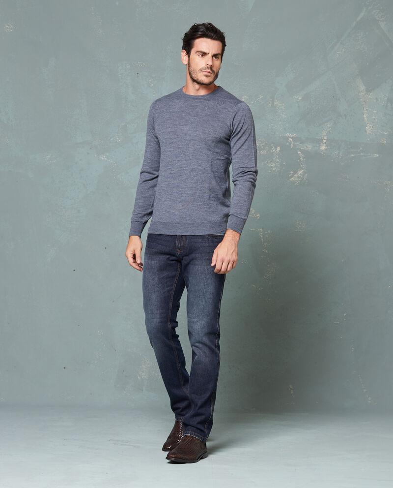 Pullover con lavorazione tricot