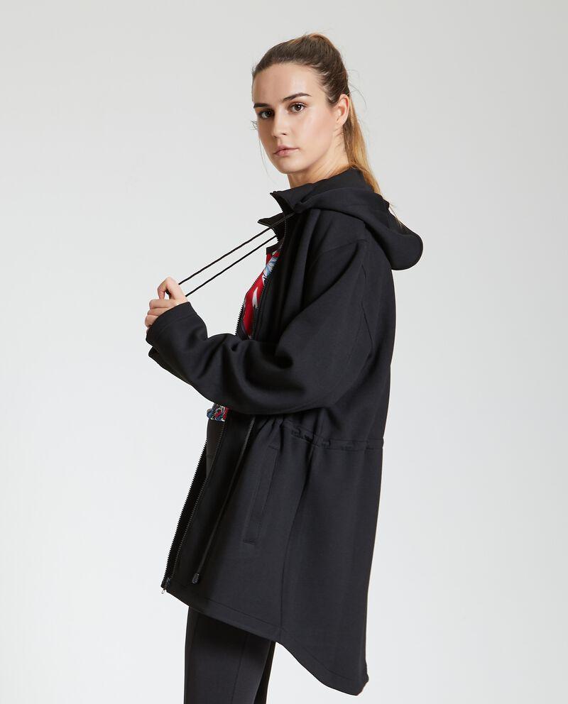 Cappotto fitness in tessuto donna