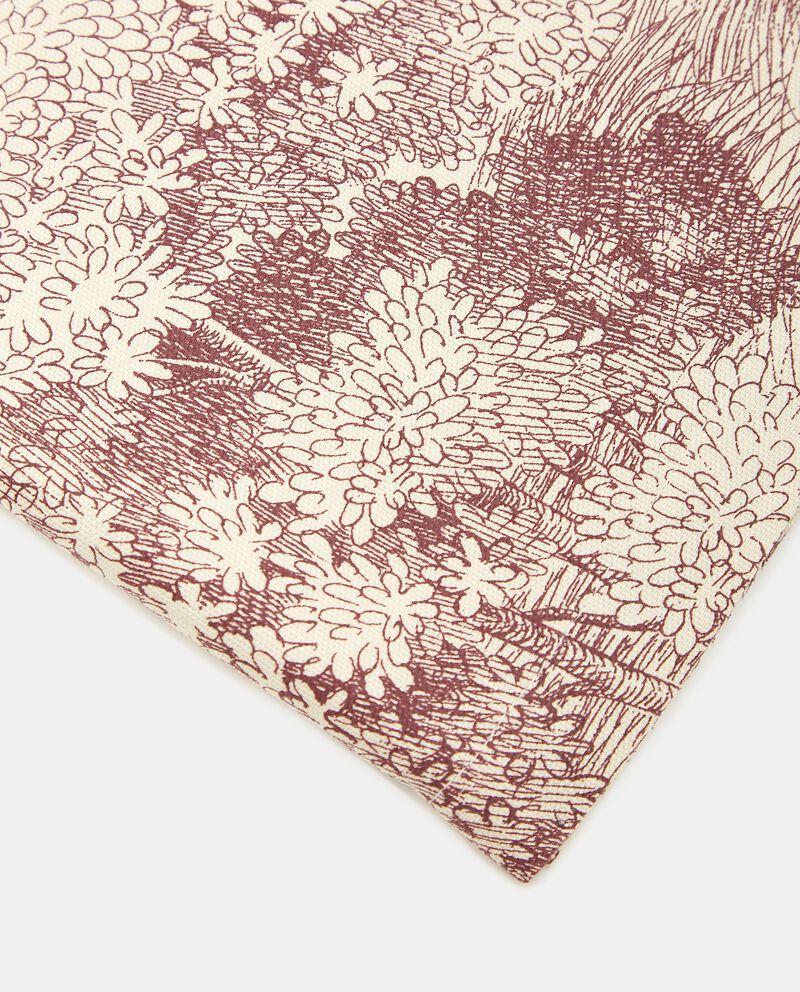 Telo con decoro caccia in puro cotone single tile 1