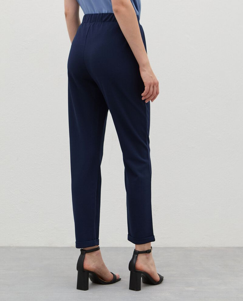 Pantaloni con coulisse crepe donnadouble bordered 1