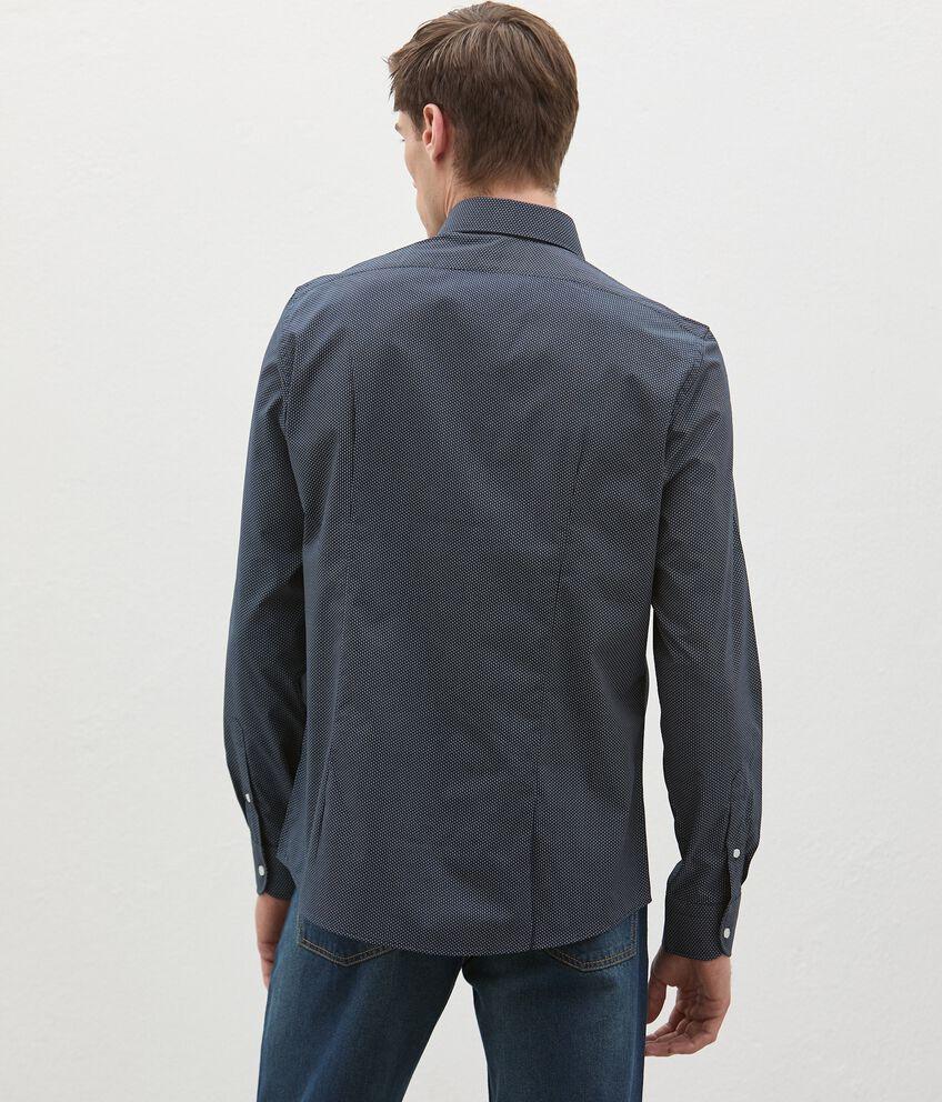 Camicia in fantasia di cotone uomo double 2