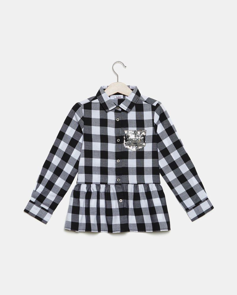 Camicia in puro cotone bambina