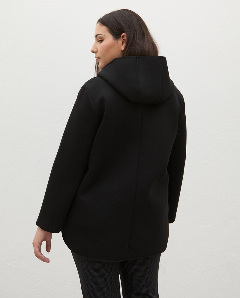 Giacca neoprene Curvy donnadouble bordered 1