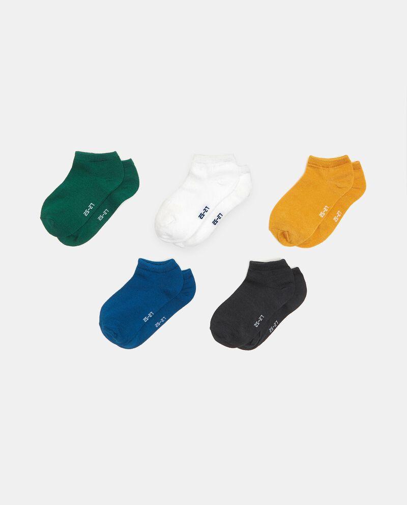 Set con 5 papa di calzini in cotone elasticizzato cover