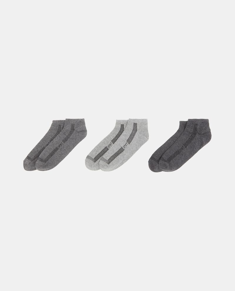 Set calzini sportivi corti uomo